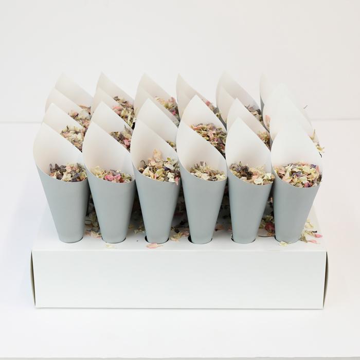 Unbranded Confetti Cone Tray