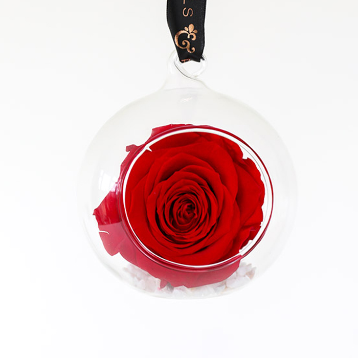 Red Rose Bauble