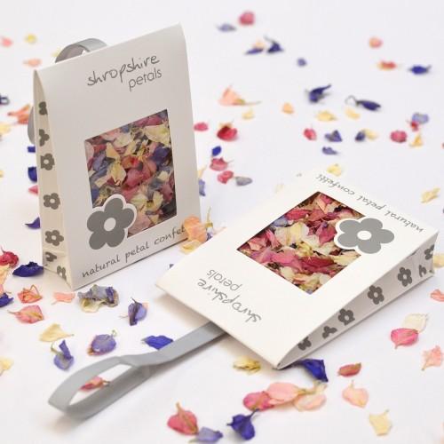 White Confetti Sachet (Pack of 25)