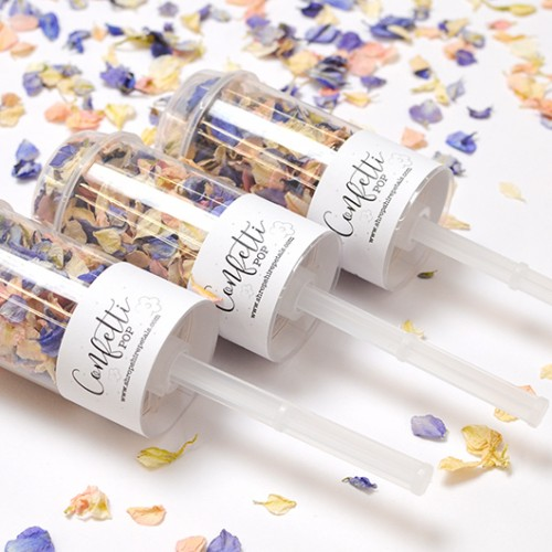 Branded Confetti Pops (Pack of 10)