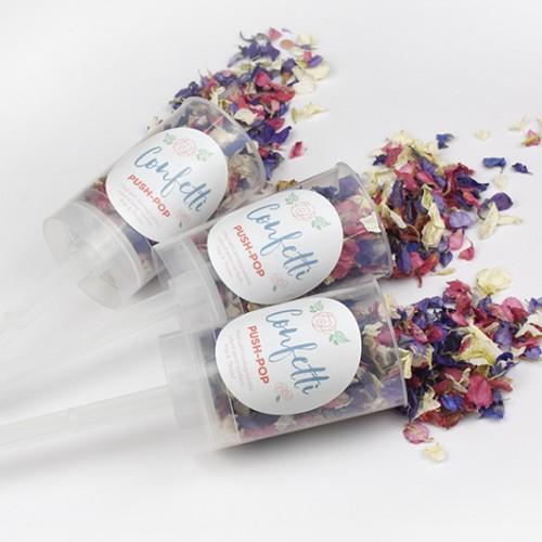 Confetti Push Pops (Pack of 10)