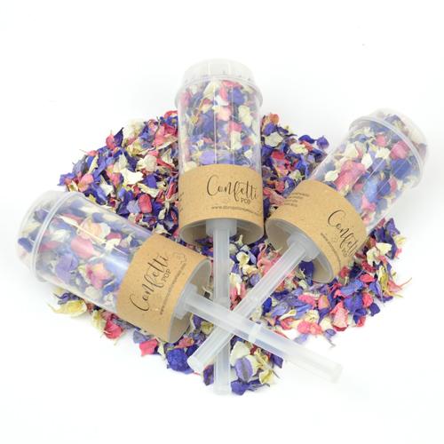 Branded Kraft Confetti Pops (Pack of 10)